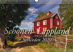 Schweden – Von Schonen nach Lappland (Wandkalender 2020 DIN A3 quer) von Schiedl,  Bernd