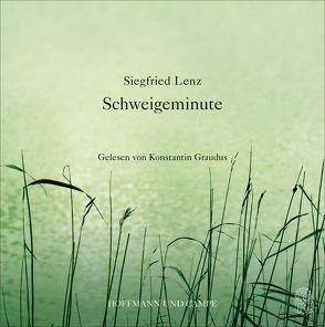 Schweigeminute von Graudus,  Konstantin, Lenz,  Siegfried