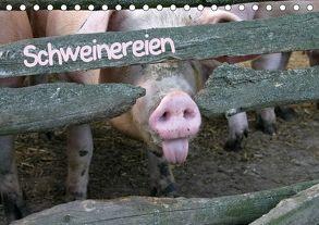 Schweinereien (Tischkalender 2018 DIN A5 quer) von Berg,  Martina