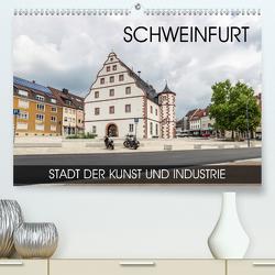 Schweinfurt – Stadt der Kunst und Industrie (Premium, hochwertiger DIN A2 Wandkalender 2020, Kunstdruck in Hochglanz) von Thoermer,  Val