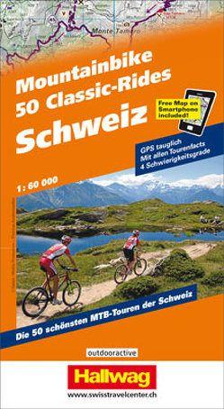Schweiz, 50 Mountainbike Classic-Rides von Steiner,  Christian
