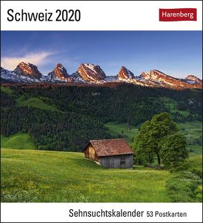 Schweiz Kalender 2020 von Gerth,  Andreas, Harenberg