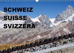SCHWEIZ – SUISSE – SVIZZERA (Wandkalender 2020 DIN A3 quer) von sirflor.ch