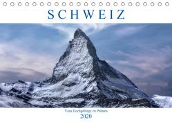 Schweiz – Vom Hochgebirge zu Palmen (Tischkalender 2020 DIN A5 quer) von Kruse,  Joana