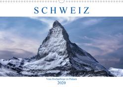 Schweiz – Vom Hochgebirge zu Palmen (Wandkalender 2020 DIN A3 quer) von Kruse,  Joana