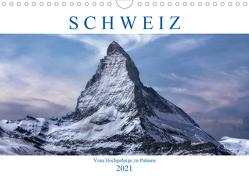 Schweiz – Vom Hochgebirge zu Palmen (Wandkalender 2021 DIN A4 quer) von Kruse,  Joana