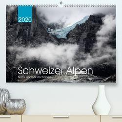 Schweizer Alpen. Natur und Landschaften (Premium, hochwertiger DIN A2 Wandkalender 2020, Kunstdruck in Hochglanz) von Koch,  Lucyna
