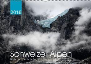 Schweizer Alpen. Natur und Landschaften (Wandkalender 2018 DIN A2 quer) von Koch,  Lucyna