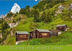 Schweizer Berge 2018 (Wandkalender 2018 DIN A2 quer) von AG,  Calendaria