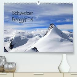 Schweizer Berggipfel (Premium, hochwertiger DIN A2 Wandkalender 2020, Kunstdruck in Hochglanz) von Albicker,  Gerhard