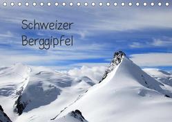 Schweizer Berggipfel (Tischkalender 2019 DIN A5 quer) von Albicker,  Gerhard