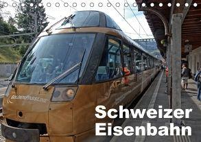 Schweizer Eisenbahn (Tischkalender 2018 DIN A5 quer) von J. Strutz,  Rudolf
