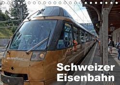 Schweizer Eisenbahn (Tischkalender 2019 DIN A5 quer) von J. Strutz,  Rudolf