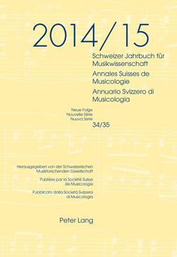 Schweizer Jahrbuch für Musikwissenschaft von Zoppelli,  Luca