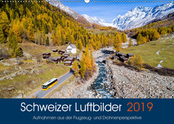 Schweizer Luftbilder (Wandkalender 2019 DIN A2 quer) von Meyer,  Tis