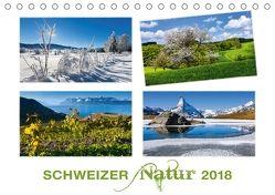 Schweizer Natur 2018 (Tischkalender 2018 DIN A5 quer) von AG,  Calendaria