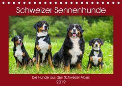Schweizer Sennenhunde – die Hunde aus den Schweizer Alpen (Tischkalender 2019 DIN A5 quer) von Starick,  Sigrid