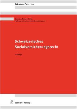 Schweizerisches Sozialversicherungsrecht von Riemer-Kafka,  Gabriela