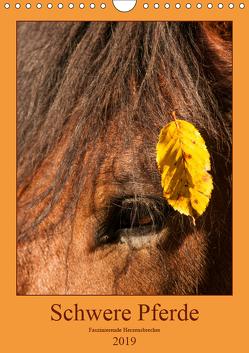 Schwere Pferde – Faszinierende Herzensbrecher (Wandkalender 2019 DIN A4 hoch) von Bölts,  Meike