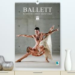 Schwereloser Kraftakt –Ballett (Premium, hochwertiger DIN A2 Wandkalender 2021, Kunstdruck in Hochglanz) von CALVENDO