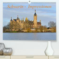 Schwerin – Impressionen (Premium, hochwertiger DIN A2 Wandkalender 2021, Kunstdruck in Hochglanz) von Roick,  Reinalde