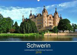 Schwerin – Landeshauptstadt von Mecklenburg-Vorpommern (Wandkalender 2019 DIN A2 quer) von Rein,  Markus