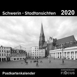 Schwerin – Stadtansichten 2020 (schwarz-weiß) von Kriedemann,  Karsten