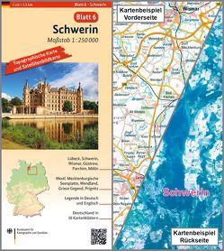 Schwerin von BKG - Bundesamt für Kartographie und Geodäsie