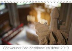 Schweriner Schlosskirche en détail 2019 (Tischkalender 2019 DIN A5 quer) von Wallroth,  Sebastian