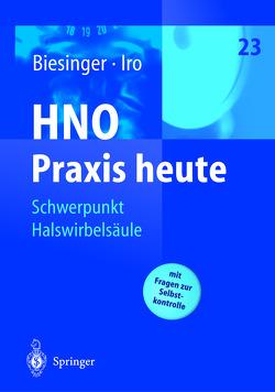 Schwerpunkt Halswirbelsäule von Badke,  A., Belzl,  H., Berg,  P. van den, Büntzel,  J., Ernst,  A., Himmer,  K.-J., Micke,  O., Neuhuber,  W.L., Seidl,  R.O., Todt,  I.
