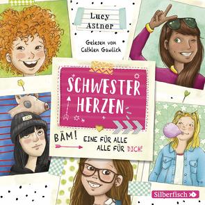 Schwesterherzen 1: Eine für alle, alle für DICH! von Astner,  Lucy, Gawlich,  Cathlen