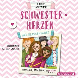 Schwesterherzen 2: Auf Klassenfahrt von Astner,  Lucy, Gawlich,  Cathlen