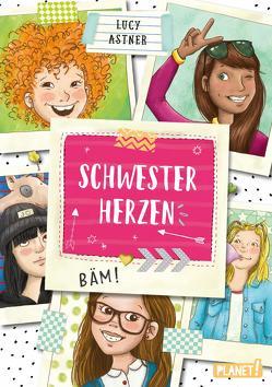 Schwesterherzen 1: Eine für alle, alle für DICH! von Astner,  Lucy, Jessler,  Nadine