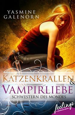 Schwestern des Mondes – Katzenkrallen & Vampirliebe von Galenorn,  Yasmine, Volk,  Katharina