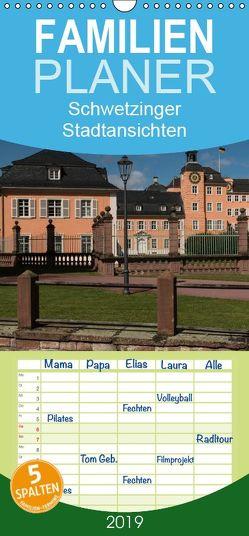 Schwetzinger Stadtansichten – Familienplaner hoch (Wandkalender 2019 , 21 cm x 45 cm, hoch) von Matthies,  Axel