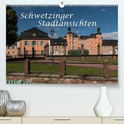 Schwetzinger Stadtansichten (Premium, hochwertiger DIN A2 Wandkalender 2021, Kunstdruck in Hochglanz) von Matthies,  Axel