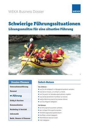 Schwierige Führungssituationen von Hettl,  Matthias K.
