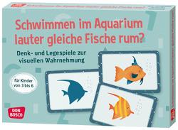 Schwimmen im Aquarium lauter gleiche Fische rum? von Francis,  Dinah, Gully,  Angela