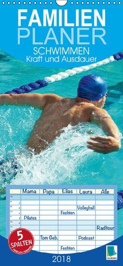 Schwimmen: Kraft und Ausdauer (Wandkalender 2018 PRO_49_format hoch) von CALVENDO,  k.A.
