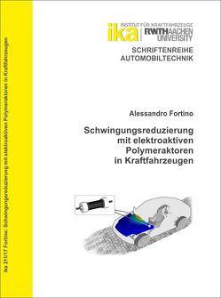 Schwingungsreduzierung mit elektroaktiven Polymeraktoren in Kraftfahrzeugen von Fortino,  Alessandro