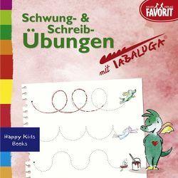 Schwung- und Schreibübungen mit Tabaluga