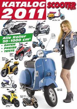 Scooter Katalog 2011 von Wagner,  Reinhold, Wimme,  Günter