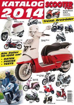 Scooter Katalog 2014 von Wagner,  Reinhold, Wimme,  Günter