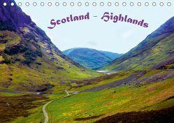 Scotland – Highlands (Tischkalender 2019 DIN A5 quer) von Wernicke-Marfo,  Gabriela
