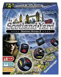 Scotland Yard Würfelspiel von Brand,  Inka, Brand,  Markus, Prinz,  Matthias