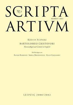 Scripta Artium No. 2 von Behrends,  Rainer, Breitenstein,  Irmela, Fontana,  Eszter, Gernhardt,  Klaus, Schwarz,  Kerstin