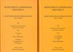 Scriptores rerum Germanicarum, Nova series / Eneas Silvius Piccolomini, Historia Austrialis von Knödler,  Julia, Wagendorfer,  Martin