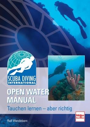SDI Open Water Manual von Wendeborn,  Ralf