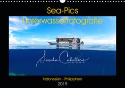 Sea-Pics Unterwasserfotografie (Wandkalender 2019 DIN A3 quer) von Caballero,  Sascha