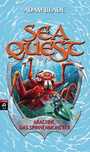 Sea Quest – Arachne, das Spinnenmonster von Blade,  Adam, Gallus,  Christine